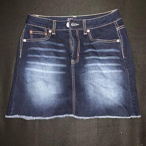 Dresses & Skirts - mini jean skirt
